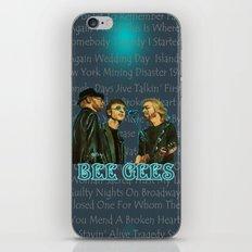 Bee Gee's Poster (Analog Zine) iPhone & iPod Skin