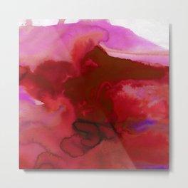Vellum Watercolor Bliss 2K by Kathy Morton Stanion Metal Print