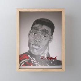 Dwayne Wayne Framed Mini Art Print