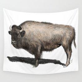 Rustic Buffalo Wall Tapestry
