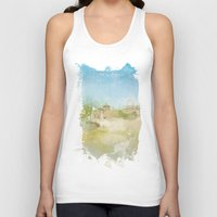rome Tank Tops featuring Rome by FarbCafé