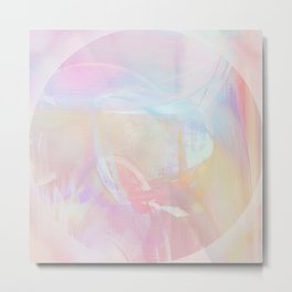 Rainbow haze Metal Print
