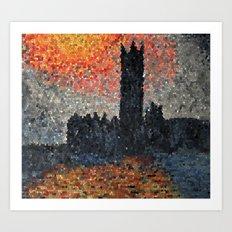 London Fog Art Print