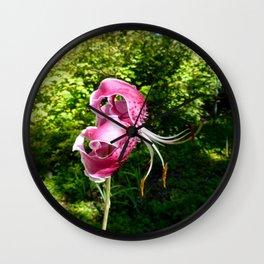 Overblown Bloom Wall Clock