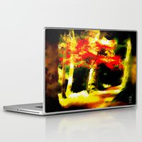 redhead Laptop & iPad Skins featuring Redhead by Nev3r