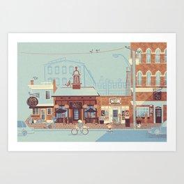 State Street, NBPT Art Print