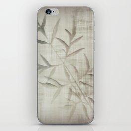 Satin night iPhone Skin