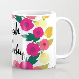 Smash the Patriarchy Wreath Coffee Mug