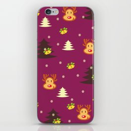 happy christmas iPhone Skin