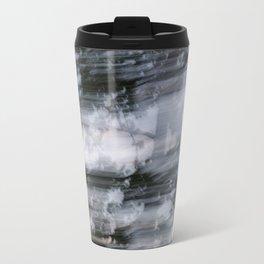 Abstract trees photography slow shutter Metal Travel Mug