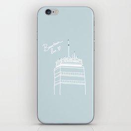 Beantown Love iPhone Skin