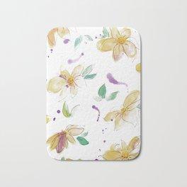 blazz studios: Spring Flowers Bath Mat