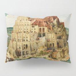 Tower Of Babel Pieter Bruegel The Elder Pillow Sham
