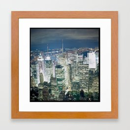 NYC New York Hasselblad Building Framed Art Print