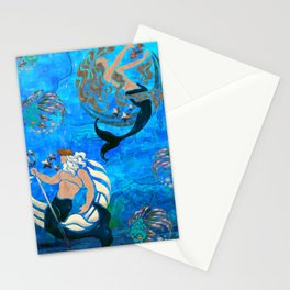 Myth of the Sea New Age Stationery Cards