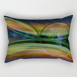 CropCirclesThree Rectangular Pillow