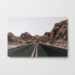 Road Trip / Valley of Fire Metal Print