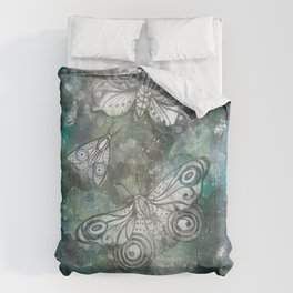 Night Moths Comforters