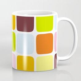 Colorful square tiles Coffee Mug