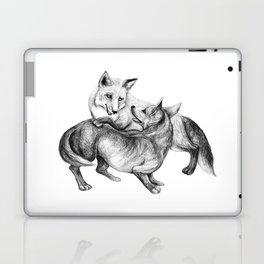 A fox and a dog  Laptop & iPad Skin