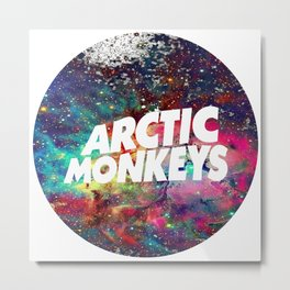 arctic monkey galaxy Metal Print
