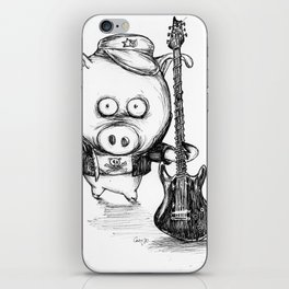 Tiger Pig by Carine-M iPhone Skin
