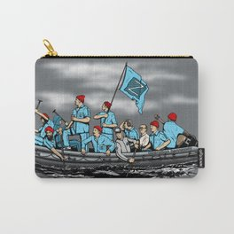 Team Zissou Crossing the Delaware Carry-All Pouch