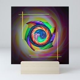 Abstract in perfection 121 Mini Art Print