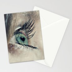 The love in her eyes Stationery Cards