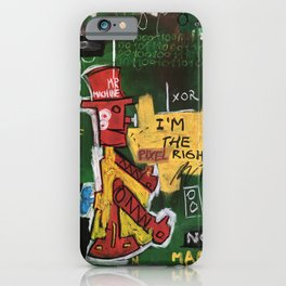 Mr. Machine iPhone Case
