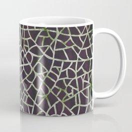 Crackle Magenta Suede Coffee Mug