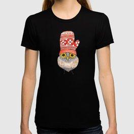 mitten owl T-shirt