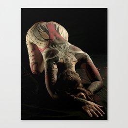 ZipperLicker Mask 01 Canvas Print