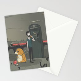 Pay Phone Stationery Cards