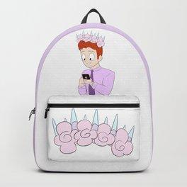 Flower Crown Boy Backpack