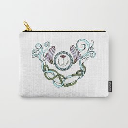 Snake Moon in Pastel Carry-All Pouch