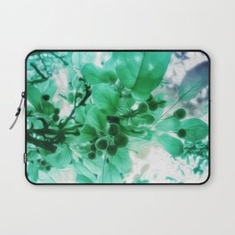 See Through Leaves Laptop Sleeve