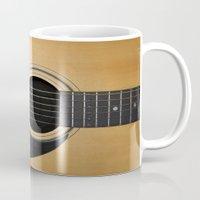 guitar Mugs featuring Guitar by Nicklas Gustafsson