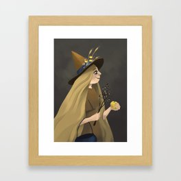 A Witchy Picture Day Framed Art Print