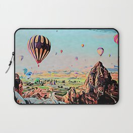 Cappadocia Otherworldly Ballooning Games Gas Event Mountain Country Laptop Sleeve
