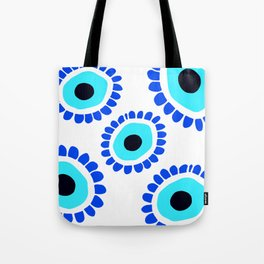 Greek Eye Symbol Tote Bag