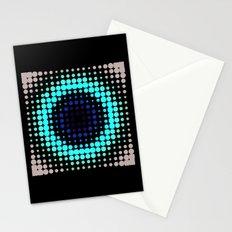 Breathing bullseye in Red Stationery Cards