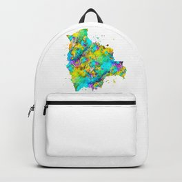 Bolivia Map Backpack