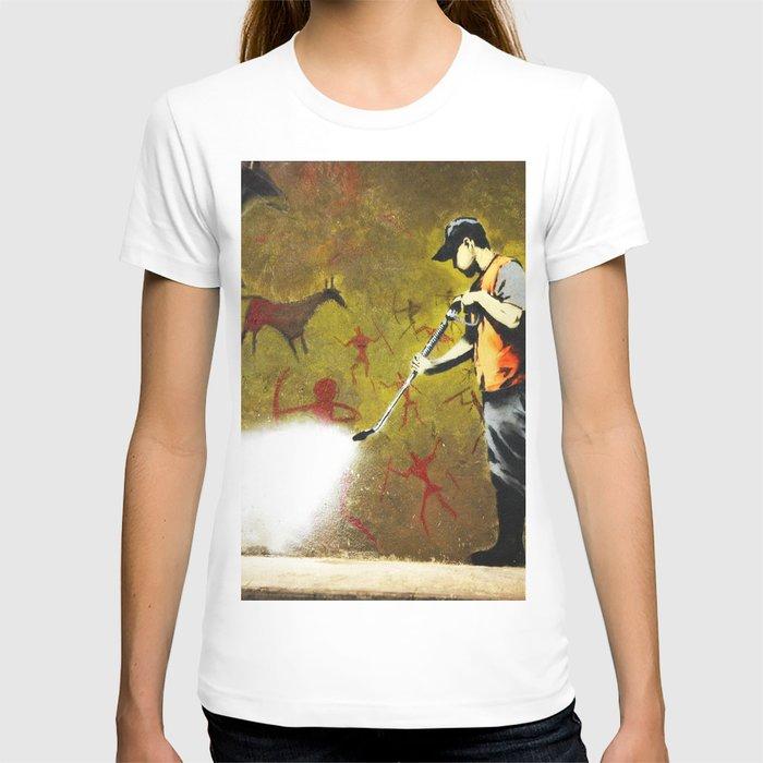 Banksy, Cave Paintings T-shirt