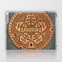 Tokyo manhole Laptop & iPad Skin