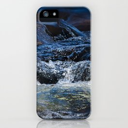 Rocks at Mississippi Headwaters iPhone Case