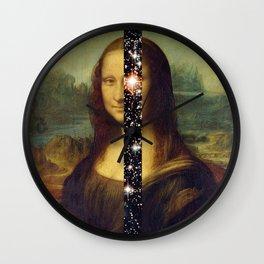Mona Lisa is Eternal Wall Clock