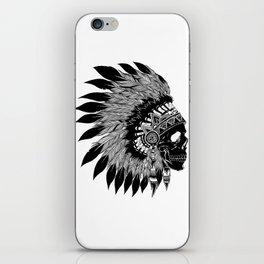 Native American Skull iPhone Skin