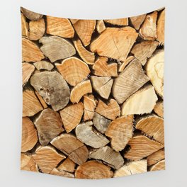 natural wood Wall Tapestry