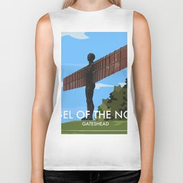 Angel of the North Biker Tank